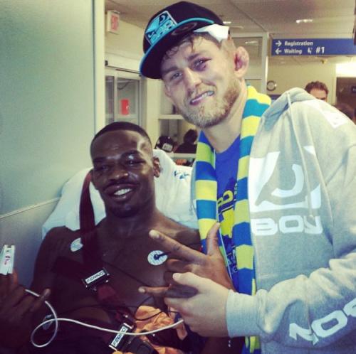 Jon Jones Reports No Major Injuries to His Foot Following UFC 165 Title Defense