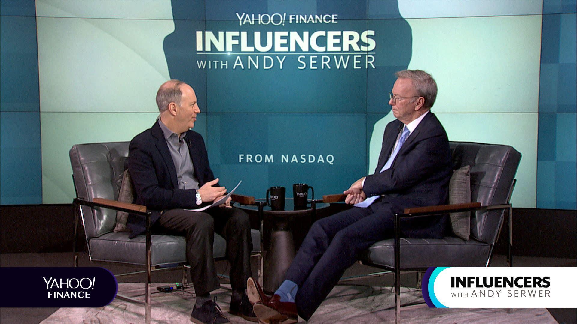Influencers Transcript: Eric Schmidt, April 18, 2019