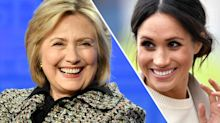Hillary Clinton shared a Meghan Markle quote on Instagram