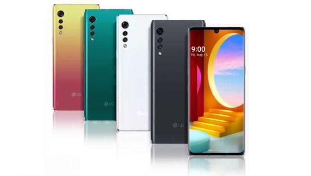 LG finally takes the wraps off its mid-range Velvet smartphone