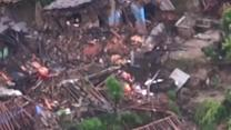 Nepal Earthquake: Aerial Footage of Epicenter
