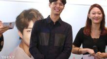 Park Bo-gum 'interviews' fans during his Singapore visit