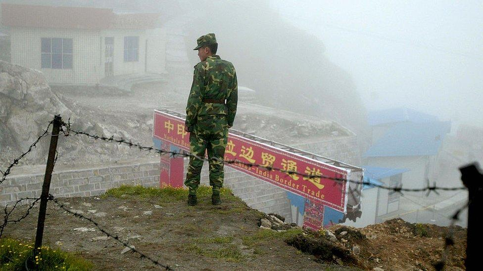 Chinese and Indian troops 'in new frontier clash'