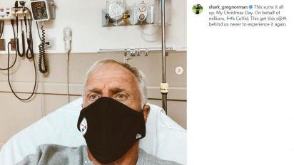 Norman positivo a covid, leggenda del golf in ospedale