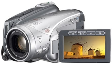 Canon's iVIS HV20 HD camcorder gets real