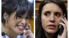 """Irene Montero, sobre la expulsión de Teresa Rodríguez durante su permiso de maternidad: """"La política no para"""""""