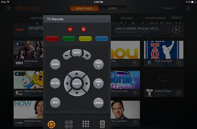 Dish Explorer for iPad can now recommend shows and turn on your TV