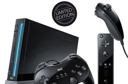 Nintendo shipping black Wii to Europe in limited edition bundle