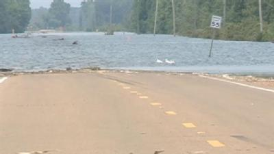 Residents Eager To Get Back Home in Flooded Yazoo County