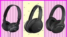 Is it Black Friday? Amazon must think so, given this epic sale on Sony headphones—starting at $10