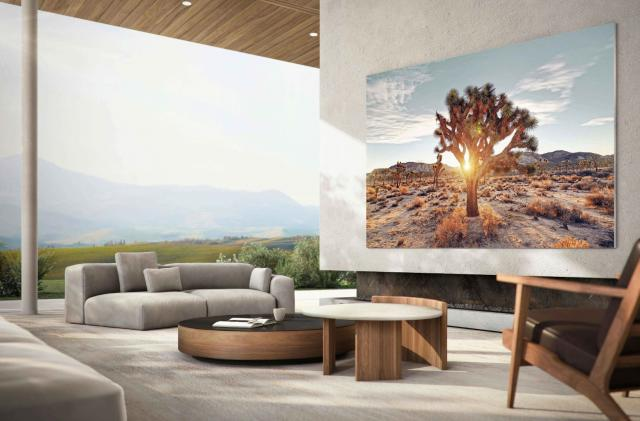 Samsung built a 110-inch version of its MicroLED 'Wall' TV