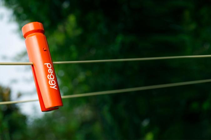 Yes, someone made a smart clothes peg