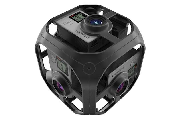 GoPro's 'Omni' VR camera rig officially unveiled
