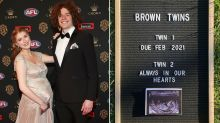 'Broken hearts': AFL couple's devastating loss of unborn baby