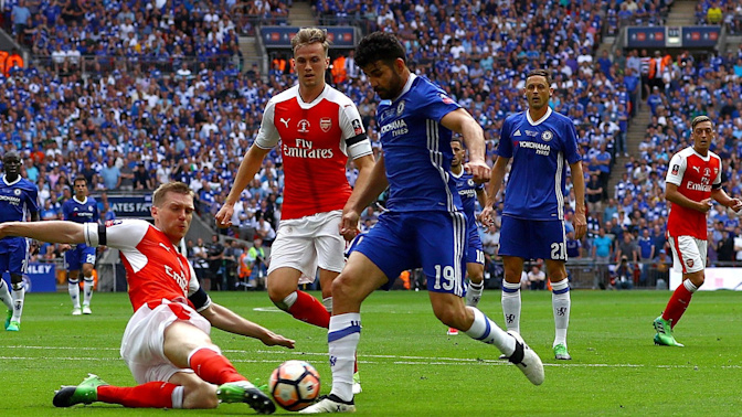 How Arsenal's unlikely trio repelled Chelsea's daunting double act