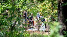Madeleine McCann: Police search garden