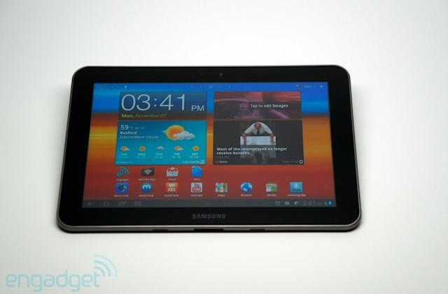LTE Galaxy Tab 8.9 coming to AT&T on November 20th for $480