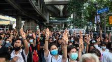 Thousands defy Thai crackdown after emergency decree, arrests