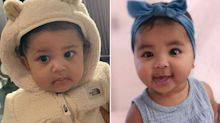 Baby Bling! Khloé Kardashian's 'Dying' Over True's Hoop Earrings as Stormi Rocks Diamond Chain