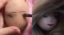 Twitter users are sharing a potato make-up tutorial to beat the January blues