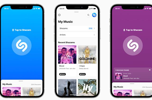 Shazam brings song recognition to the web alongside new design on iOS