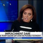 'Do not go there!': Fox News hosts shout at each other in furious on-air row over Trump impeachment