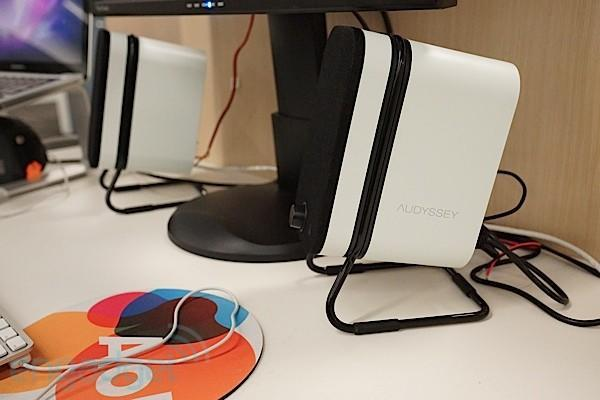 Audyssey's Wireless Speakers can plug into your computer, stream tunes over Bluetooth (ears-on)