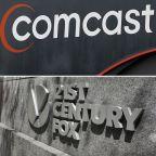 Auction to end Fox & Comcast fight, EU looks into Amazon, Top BofA exec leaving