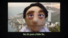 """Bolsonaro vira """"rei do coronavírus"""" em sátira de fantoches"""