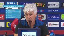 """Gasperini sulla classifica: """"Obbiettivo Champions, ma l'Inter è lì"""""""