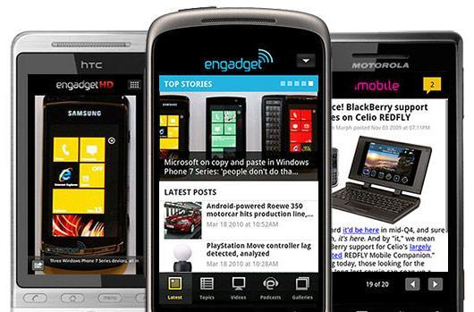 The Engadget app for Android is finally, really here!