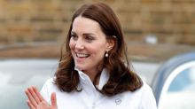 Pregnant Duchess of Cambridge channels sports-luxe in tracksuit on royal engagement