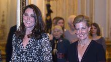 """¿Por qué la Reina quiere que Kate esté """"más vigilada"""" por Sophie de Wessex?"""