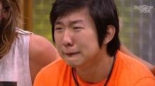 'BBB 20': Pyong se emociona ao ver fotos de Jake pela primeira vez
