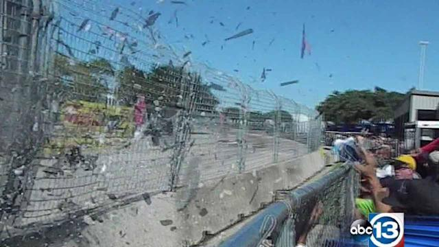 New video released of Indycar crash