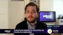 European markets volatile as Covid-19 cases rise