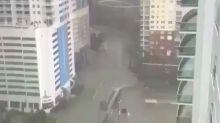 (VÍDEO) El Distrito Financiero de Miami bajo las aguas