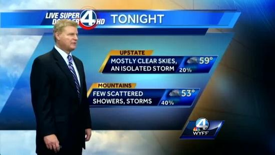 John Cessarich's forecast for Thursday, May 23, 2013