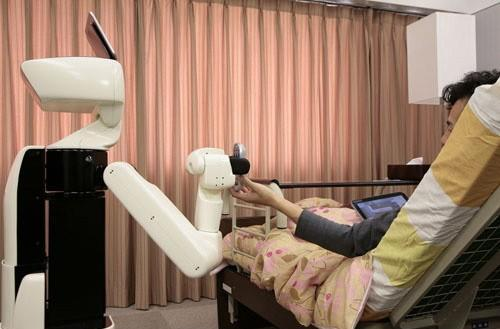 Toyota builds assistive robot to help the disabled around the home