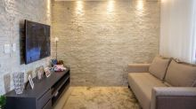 Com revestimentos modernos este apartamento em Brasília vai te encantar