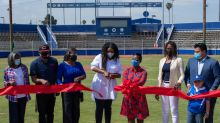 Los Angeles Dodgers Foundation, Kershaw's Challenge Complete Phase 1 Of Dodgers Dreamfields At Gonzales Park