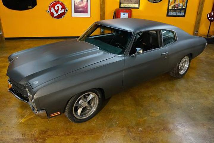 dominic toretto s fast and furious chevelle is heading to auction. Black Bedroom Furniture Sets. Home Design Ideas