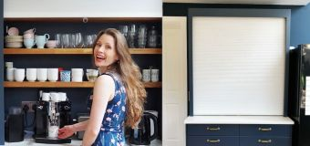 Ikea hack: £40 blinds made into chic drinks station