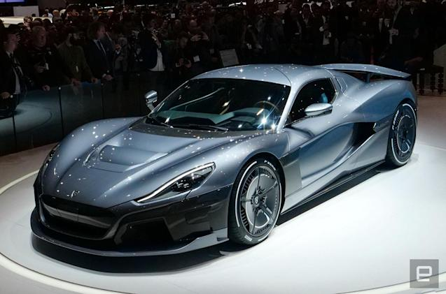 Rimac unveils the 1,900 HP Concept Two electric hypercar
