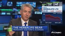 Activist Bill Ackman on Herbalife: We've been entirely ri...