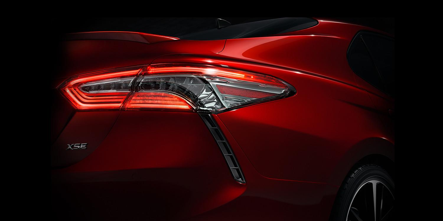Toyota is teasing a new look for the 2018 camry