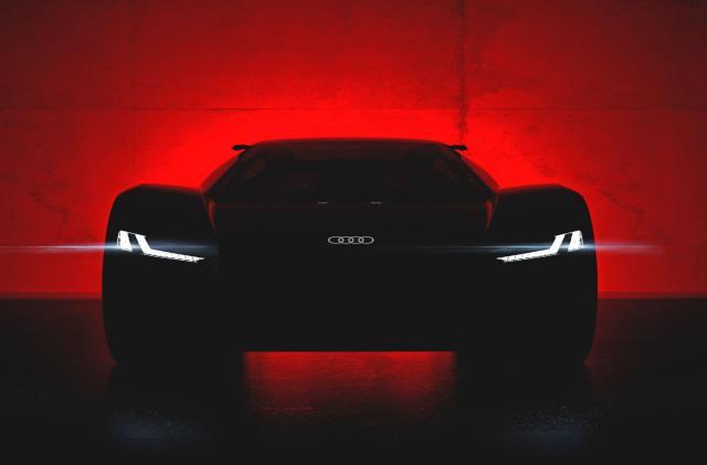 Audi will unveil its e-tron supercar EV concept next month