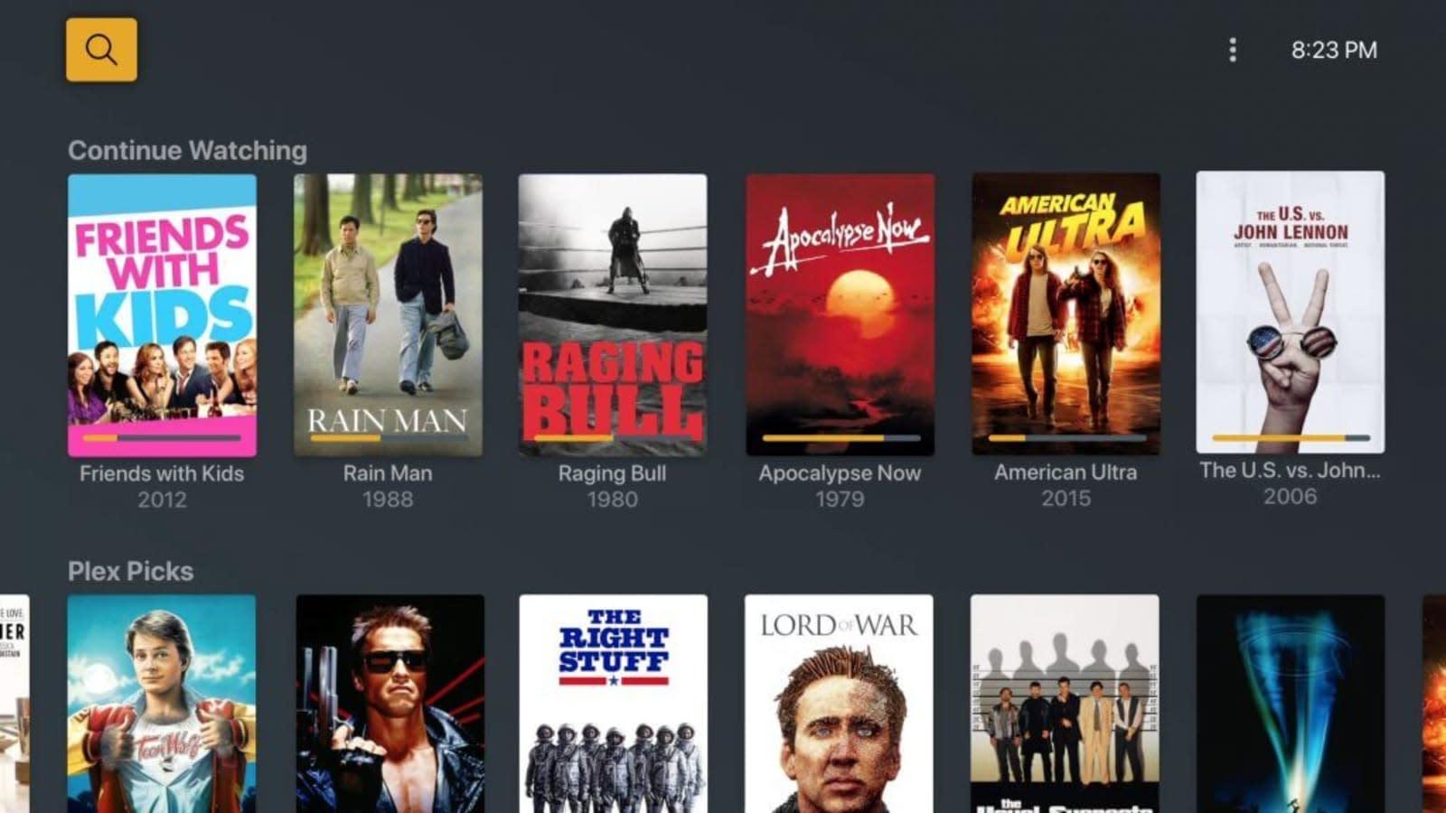 Plex Free Movies