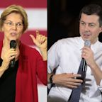 Elizabeth Warren Goes After Pete Buttigieg's Private Fundraisers