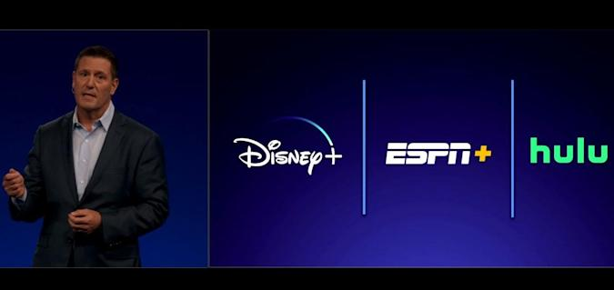 Disney will 'likely' offer a discounted Disney+, ESPN+ and Hulu bundle